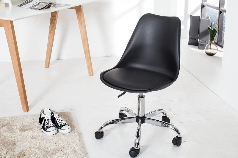 Kancelářská židle Scandinavia II - černá / 37282
