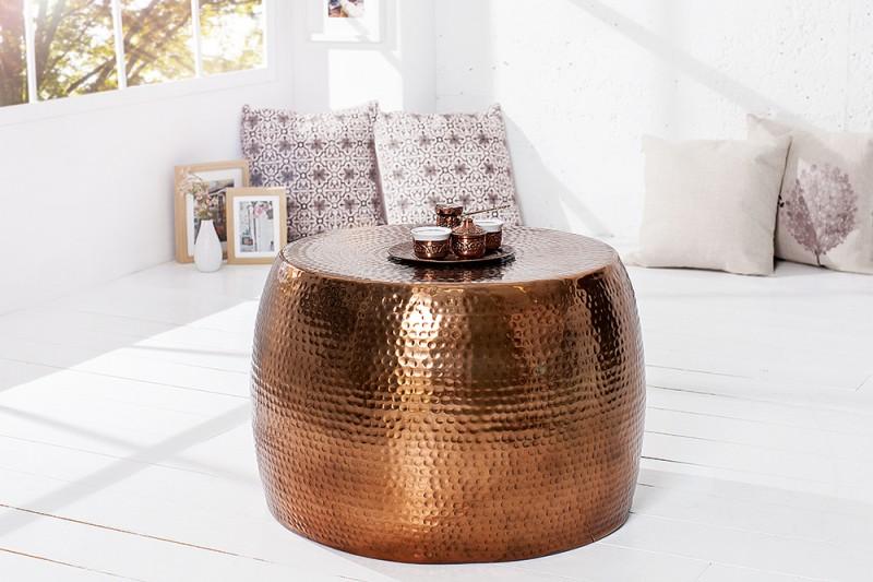 Konferenční stolek Sidon 60cm - měď / 37154