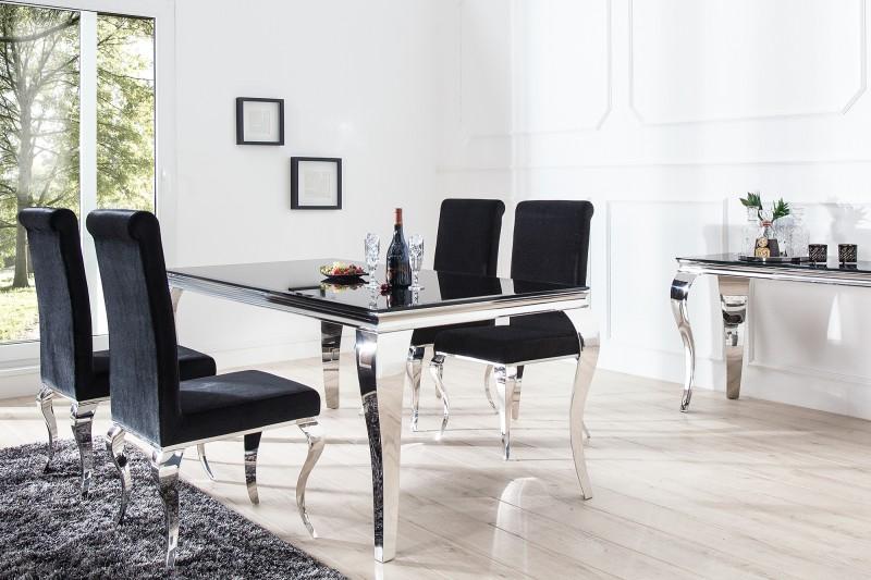 Esstisch modern barock cm schwarz