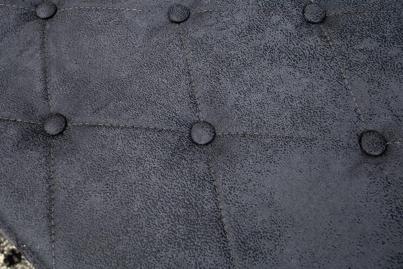 Couchtisch Chesterfield 100cm grau Antik 37387 5601