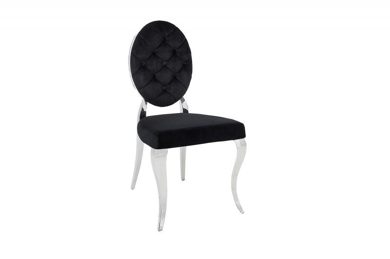 stuhl modern barock schwarz 37354 5725. Black Bedroom Furniture Sets. Home Design Ideas