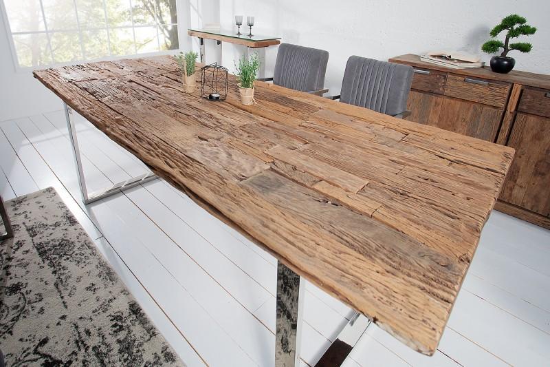esstisch barracuda 180cm recycling teakholz 36648 5392. Black Bedroom Furniture Sets. Home Design Ideas