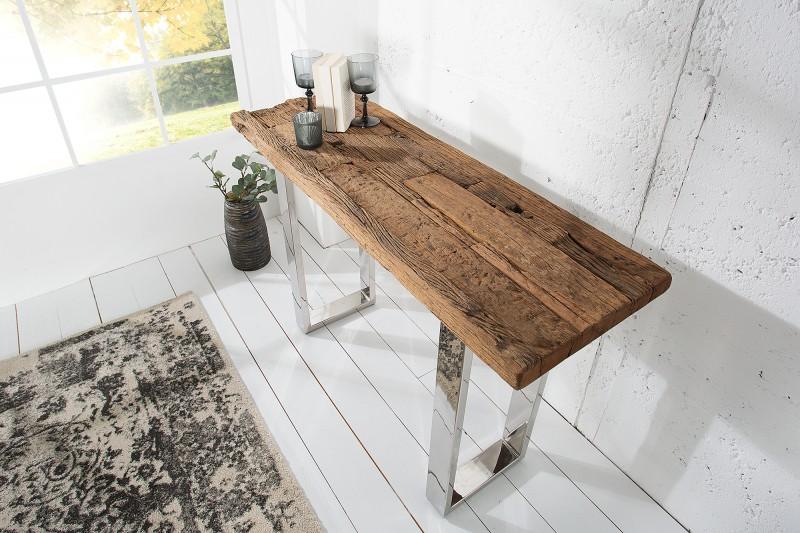 Toaletní stolek Pretoria 120cm x 40cm - recyklovaný teak / 36649