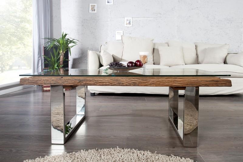 Konferenční stolek Pretoria 110cm x 60cm - recyklovaný teak / 36650