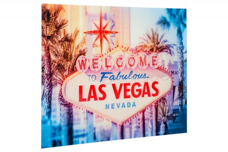 Obrázek Las Vegas 60x80cm sklo / 37406