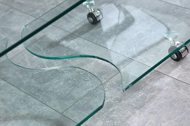 Konferenční stolek Fantome 90cm sklo / 37256
