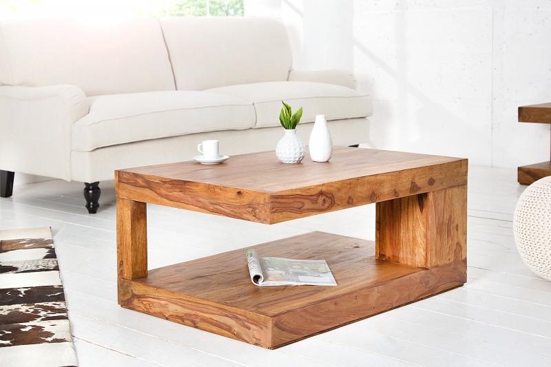 Konferenční stolek Massive 90cm x 60cm - Sheesham / 37438