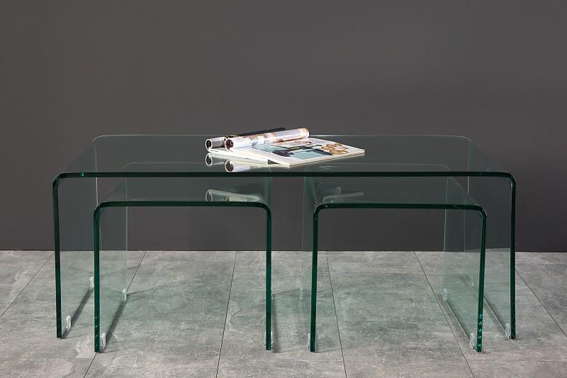 couchtisch ghost 3er set 35534 4573. Black Bedroom Furniture Sets. Home Design Ideas
