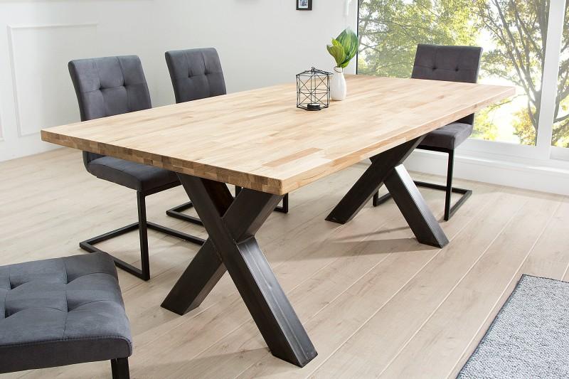 esstisch wotan x 200cm eiche industrial 37882 5879. Black Bedroom Furniture Sets. Home Design Ideas