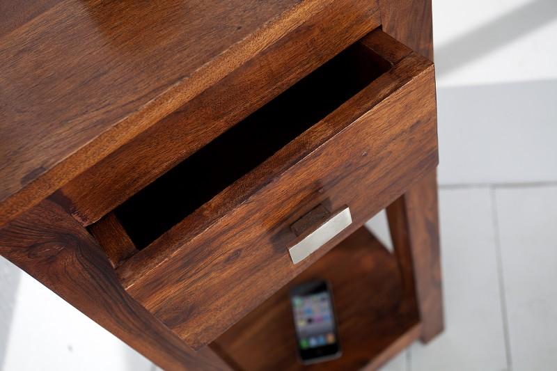 Telefonní stolek Monsoon 70cm akát / 37559
