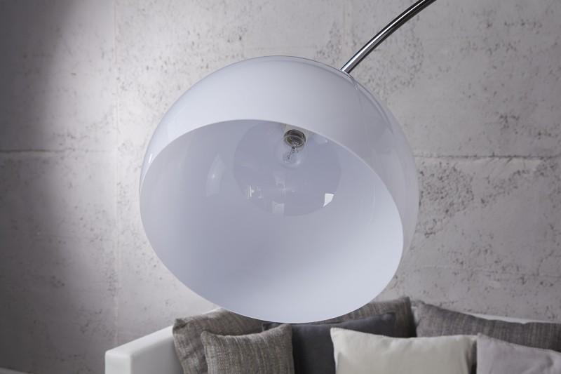 Stojací lampa Big Bow II 175-205cm - bílá  / 19694