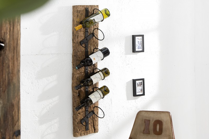 Stojan na víno Paige 15cm x 100cm - teak / 37138