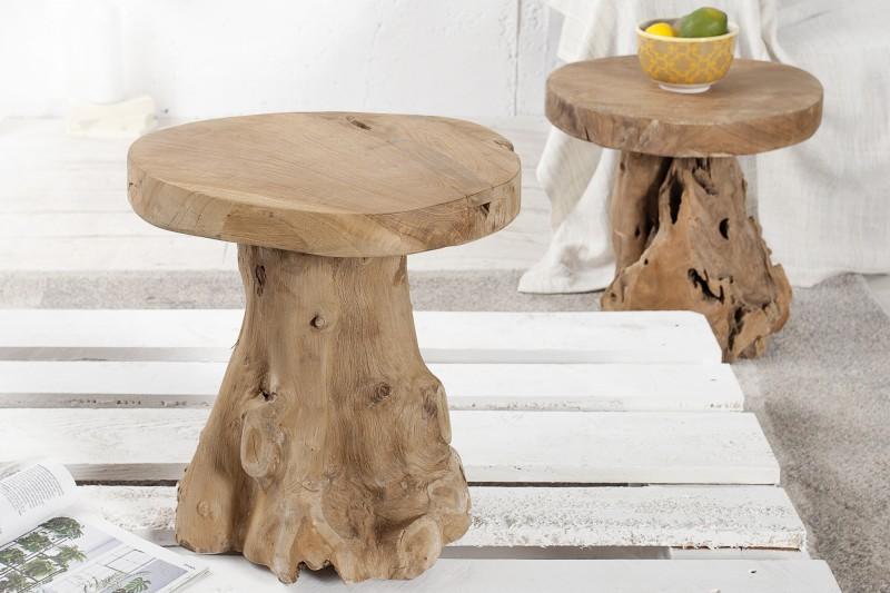 Konferenční stolek - teak 40 cm / 37139