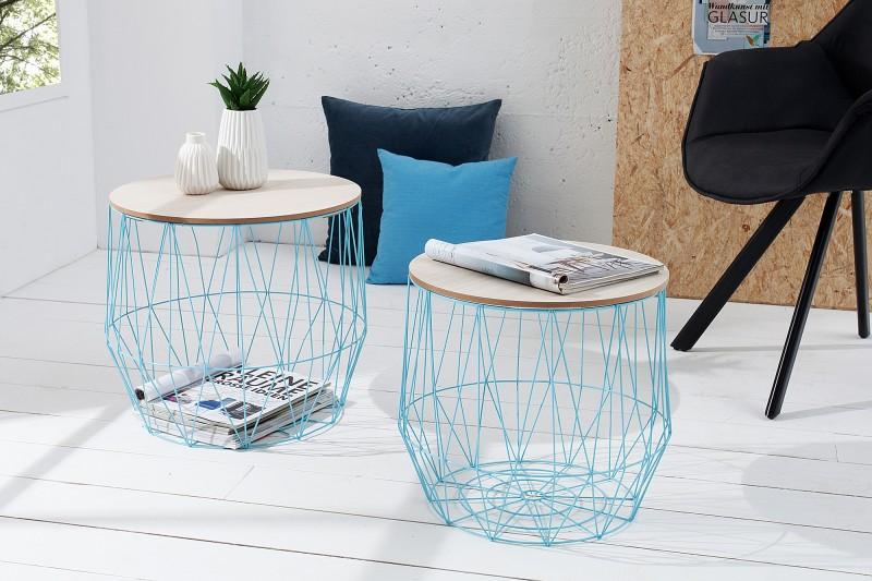 Konferenční stolek Storage II - modrý / 37656