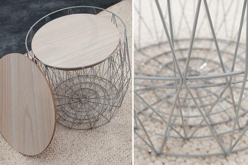 Konferenční stolek Storage II - šedý / 37658