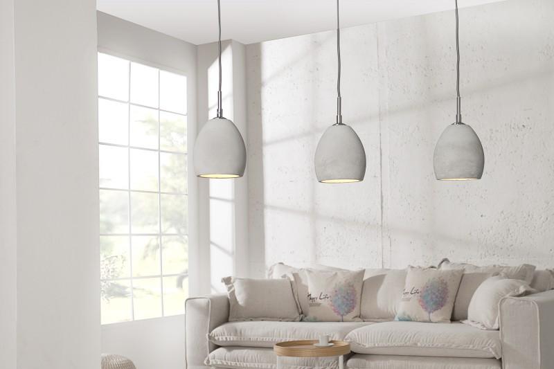 Závěsné světlo Cement lll  - beton / 36242