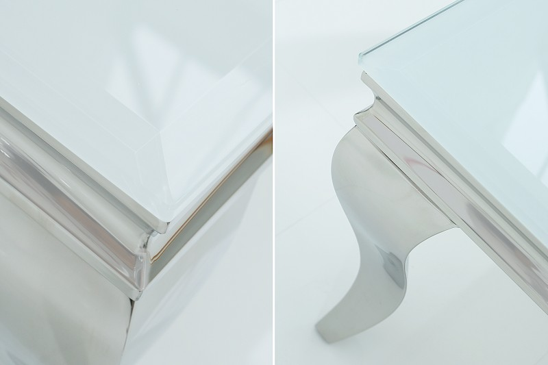 Konferenční stolek Giacomo 100cm x 60cm - bílý / 37353