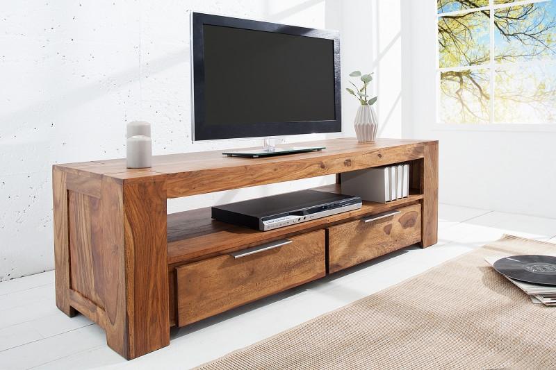 Televizní stolek Fortaleza 135cm x 45cm - Sheesham / 37892