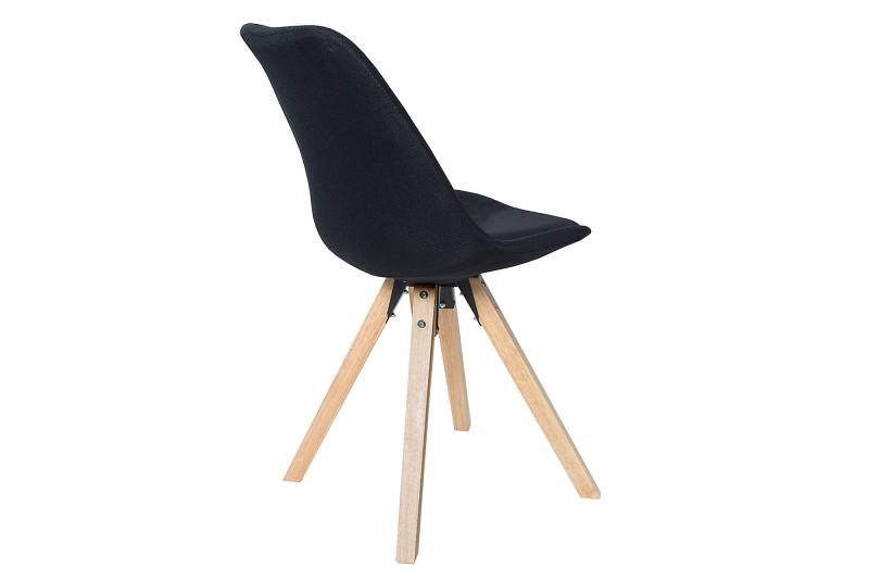 Židle Skandinávská konstrukce černá / 38124