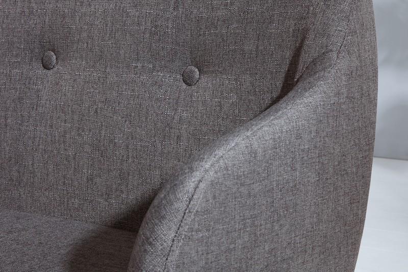 Lavice Scandinavia - tmavě šedá / 37926