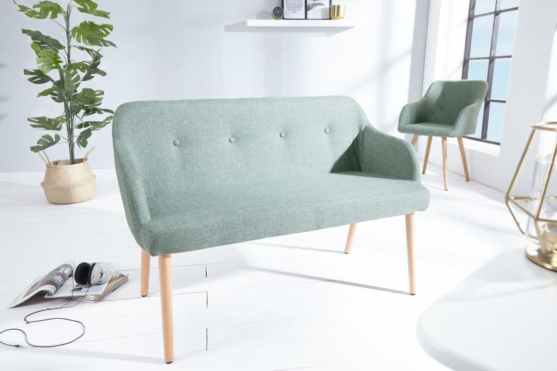 Lavice Scandinavia - šedo zelená / 37928