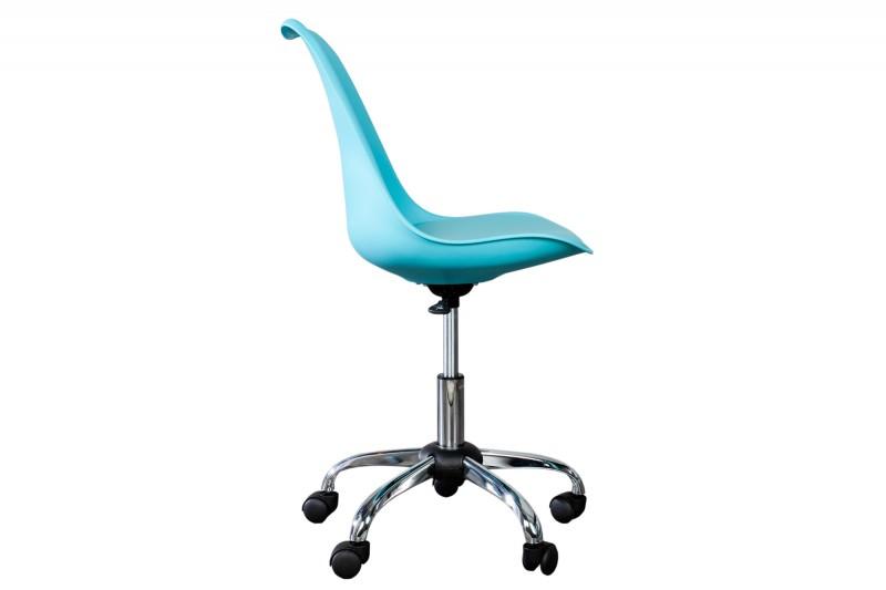 Kancelářská židle Doris - tyrkysová / 38221
