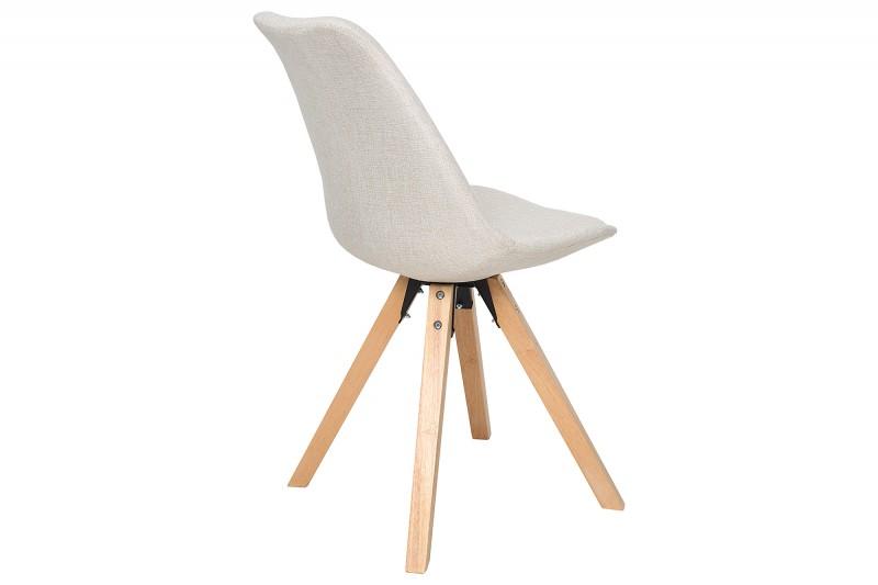 Jídelní židle Scandinavia Wood - béžová / 38126