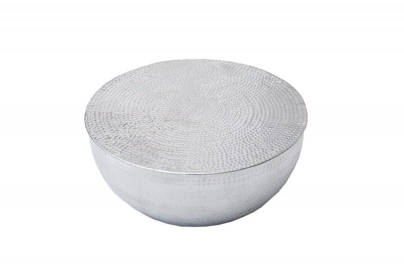 Konferenční stolek Sidon II 60cm - stříbrný / 37913