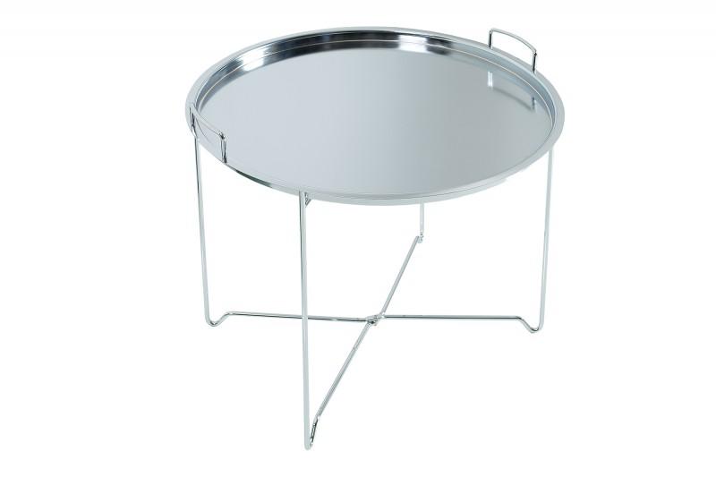 Konferenční stolek Taif 56cm - stříbrný / 37959