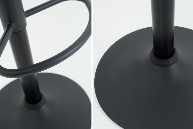 Barová židle Modena 95-115cm vintage hnědá / 37937