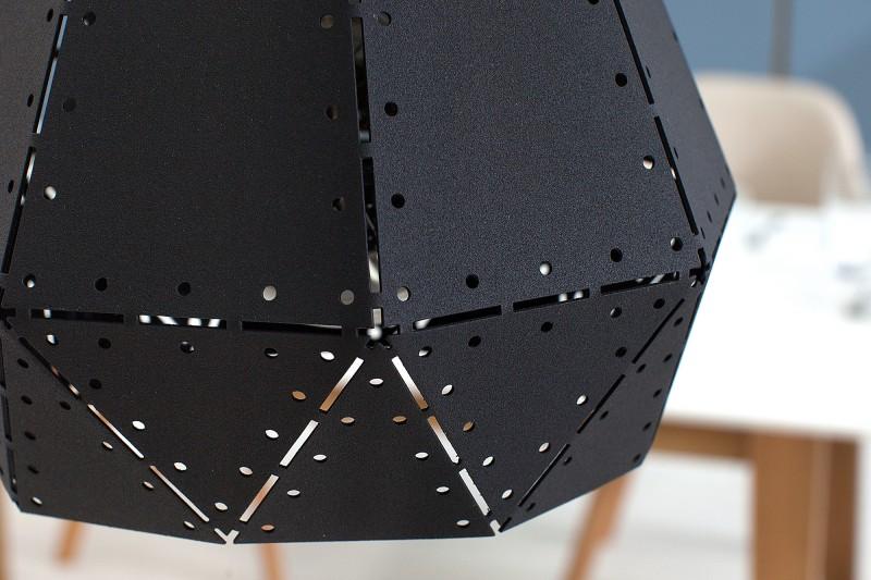 Závěsná lampa Clara I - černá / 37705