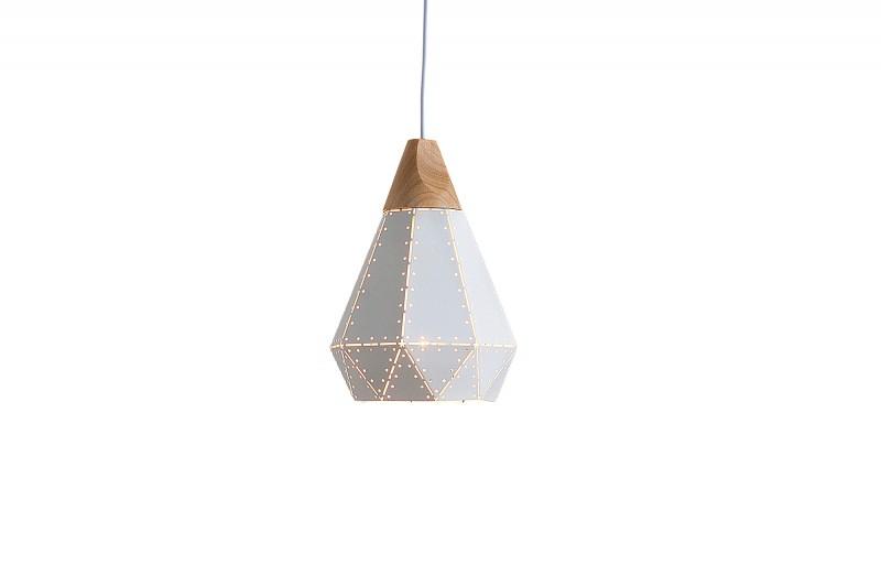 Závěsná lampa Clara I - bílá / 37706