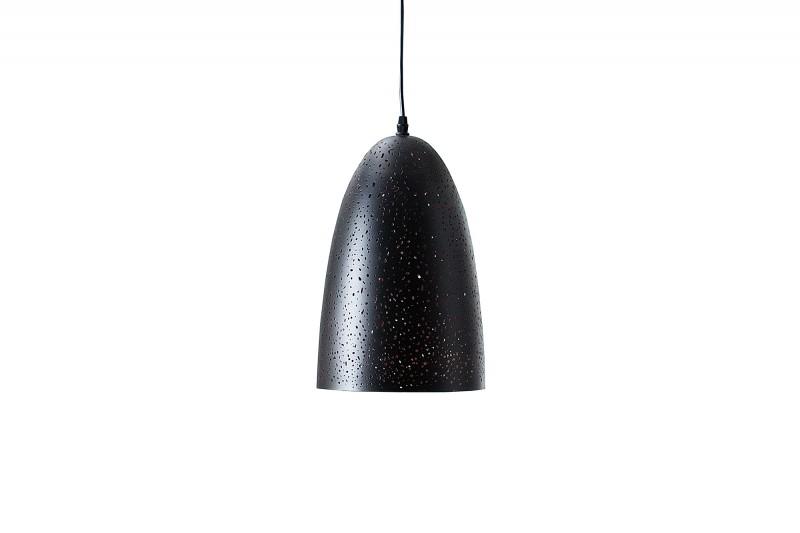 Závěsná lampa Matthew I - černá, měď / 37709