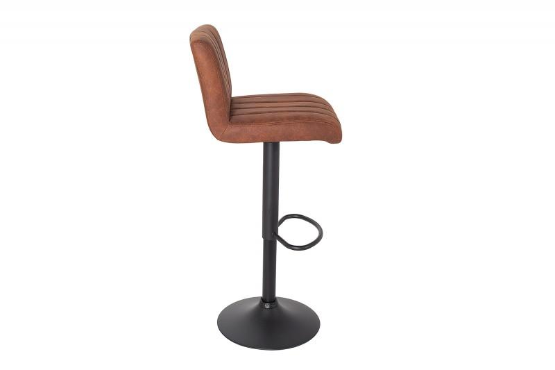 Barová židle Portland vintage hnědá / 38456