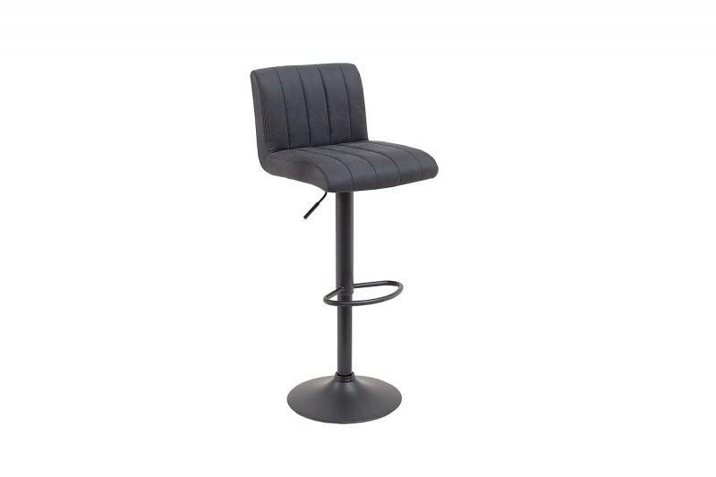 Barová židle Portland - vintage šedá / 38457