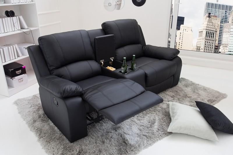 Křeslo relaxační Hollywood 2 černé/ 38322