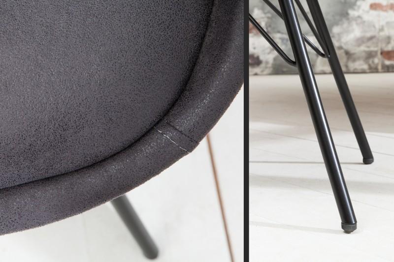 Jídelní židle Scandinavia - vintage šedá / 38089