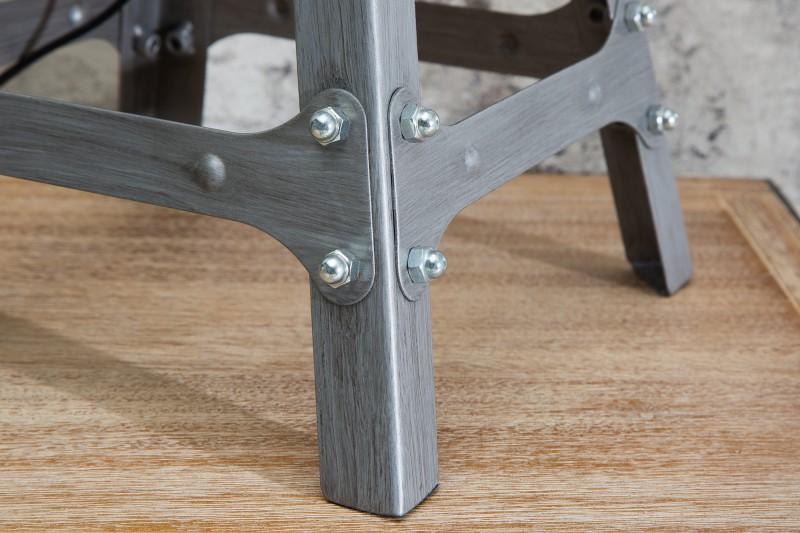 Stolní lampa Loft 60cm - šedá, kovová / 38150