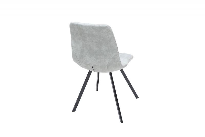 Jídelní židle Cindy - šedá / 38364 - 2ks skladem