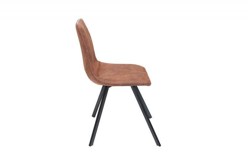 Amsterdam Retro vintage světle hnědá / 38365 židle