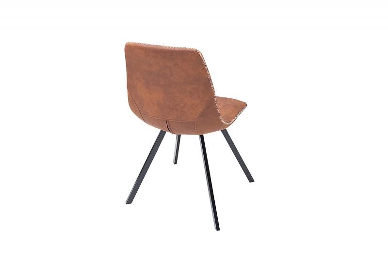 Jídelní židle Cindy - vintage hnědá / 38365