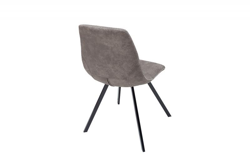 Jídelní židle Cindy - taupe šedá / 38366