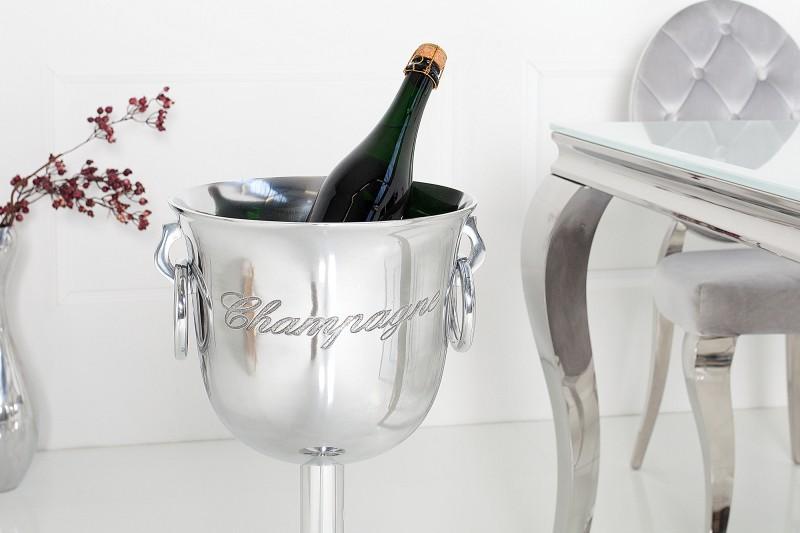 Chladič šampaňského Champagne 75cm stříbrný / 38068