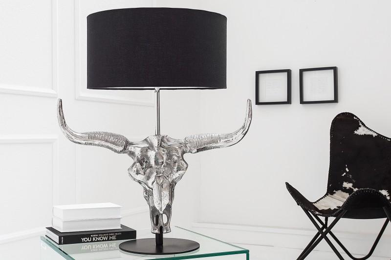 Stolní lampa El Toro 68cm - černá / 38321