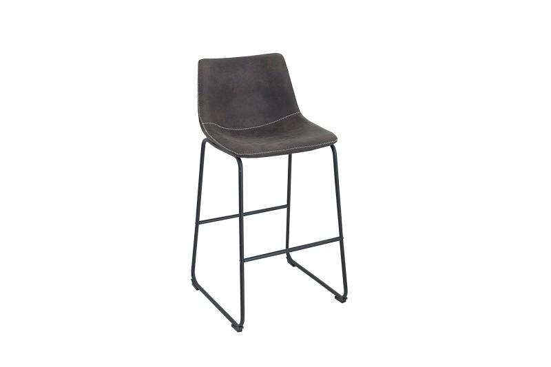 Barová židle Django - vintage šedá / 38110