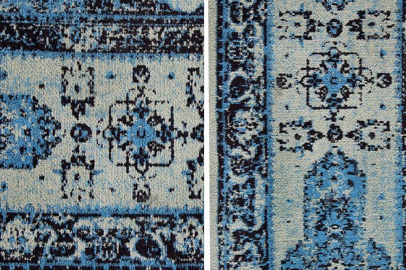 Koberec Kashan 240cm x 160cm - modrý / 38270
