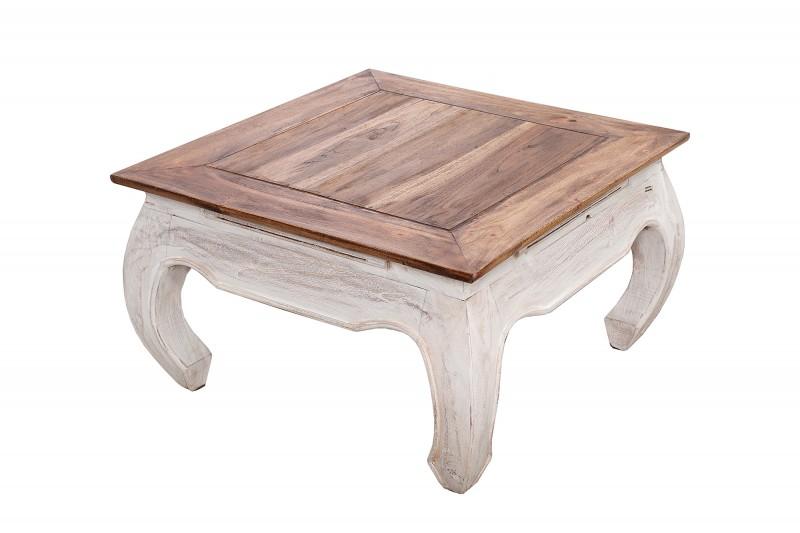 Konferenční stolek La Fleur 60cm x 60cm - mahagon / 38296