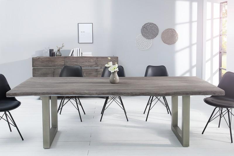Jídelní stůl Accra 200cm x 100cm - šedý akát / 37240