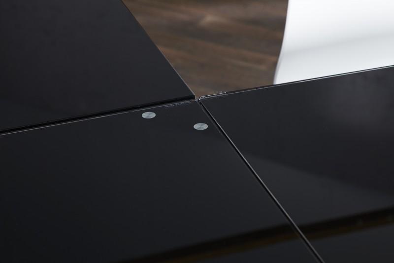 Pracovní stůl Corner Table - černé sklo / 38381