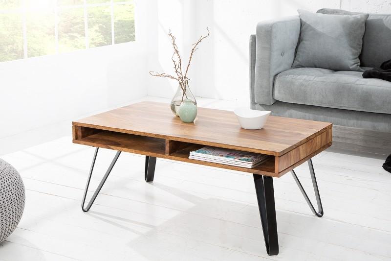 Konferenční stolek Scorpion 100cm Sheesham / 37889
